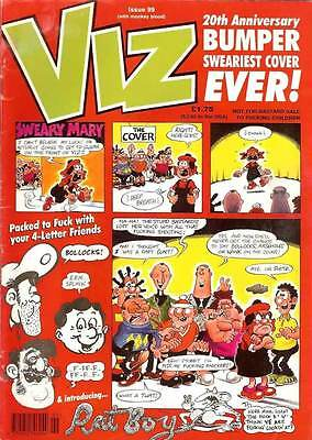 VIZ COMIC #99 December 1999 ADULTS ONLY Bumper 20th Anniversary Good Condition