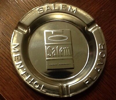 **VINTAGE** SALEM TIN ASHTRAY Lot Of 3