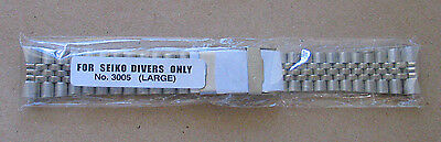New 22mm Stainless Watch BAND made for SEIKO DIVER  6309 7002 7S26-0020