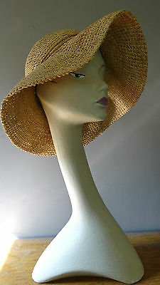 vintage swan neck mannequin bust head shop display millinery jewellery hat scarf