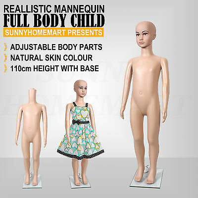 Child Full Body Size Mannequin Shop Display Mannequin 110cm B1