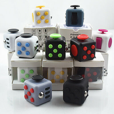 Fidget Cube Children Desk Toy Adults Stress Relief cubes toys IN STOCK!