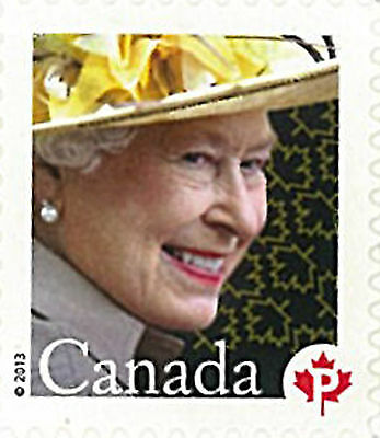 Canada Stamp, 2013 CAN1302 Queen, Important People, Royalty