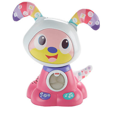 Bow Wow Interactive Learning Puppy - Pink Fisher-Price Dance and Move Beat
