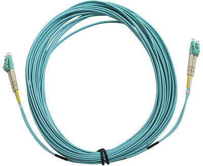 Generic LC-LC 10GB OM3 50/125 Multimode Duplex Fibre Optic Cable - 5m