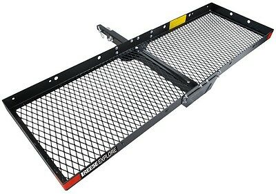 Cargo Tray Steel Hitch Rust Resistant Mounted Durable Waterproof Uv Carrier Rees