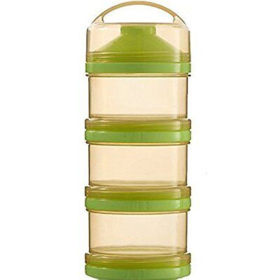 Formula Milk Powder Dispenser and Snack Container BPA Free green