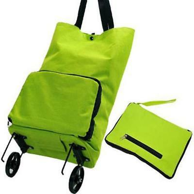 Large Capacity Shopping Bag on Wheel Lightweight Roller Portable Luggage