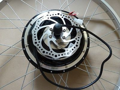 DIY 48V 1000W Front Wheel DISC Electric BicycleS Kit Conversion Motors Scooters