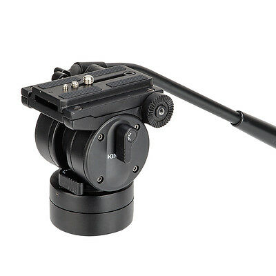 KINGJOY VT-2510 Fluid Damping Tripod Ball Head w Quick Release Plate
