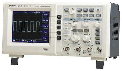 Tenma - 72-2650 - 200mhz 2 Channel Digital Oscilloscope With 1gs/s Sampling Rate