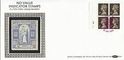 (94200) CLEARANCE GB Benham FDC D109 1st Booklet Windsor 22 August 1989