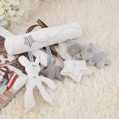 Bed Bells Kids Baby Soft Toy Animal Musical Toy Stroller Cute Ornaments ZC
