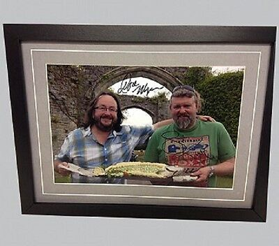 Hairy Bikers Cast Genuine Hand signed Photograph & COA