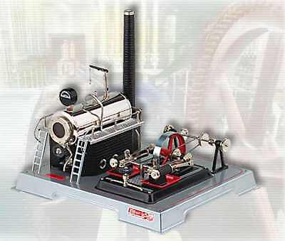 AU SPECIAL: Wilesco D22 TOY STEAM ENGINE - SEE VIDEO - NEW - FREE SHIPPING