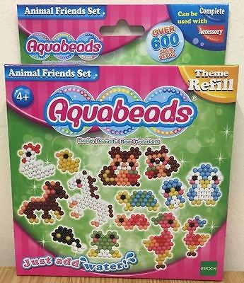 Aquabeads Just Add Water - Animal Friends Set - 79298 - New