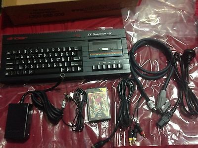 ZX Spectrum 128K +2A Black Bug Fixed Refurbished Modified with Accessories Best