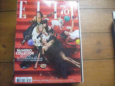 Magazine Elle 2015 Special 70 Ans Collector 400 Pages