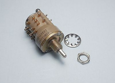 Qty(1) Grayhill Series 71 Military 3-Pole 4-Position Rotary Switch 3-P 4-T