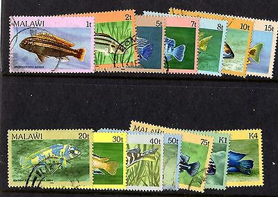 Malawi 1984 Fishes Fine Used X4255
