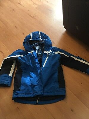 CHILDRENS NEVICA HOODED PADDED WINTER JACKET -BLUE AGE 11 - 12 YEARS 5000mm