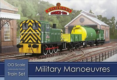 Bachmann Branch Line Train Set - Military Manoeuvres - OO Scale - 30-130 - New