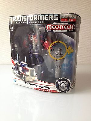Transformers Dark Of The Moon Optimus Prime Mecktech Action Figure