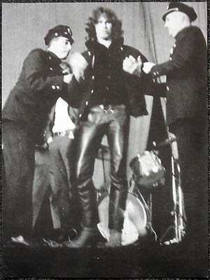 The Doors Poster Page . Jim Morrison Arrested On Stage New Haven Arena . H13