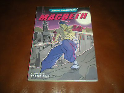 Macbeth - Robert Deas - Manga Shakespeare 2008 En Anglais English