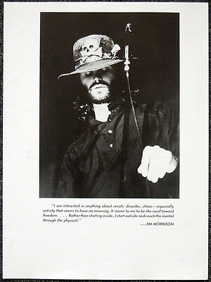 The Doors Poster Page . Jim Morrison . H46