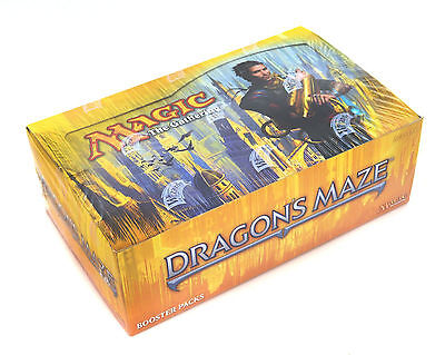 NEW Magic the Gathering MTG - Dragon's Maze - Complete Booster Box - SEALED! -
