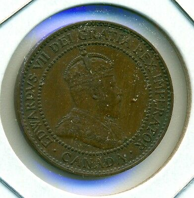 1909 Canada Large Cent, Nice Extra Fine/Almost Uncirculated, Great Price!