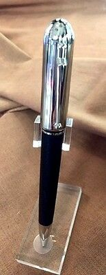 Dunhill LIMITED  Sidecar Leather Chassis Ballpoint Pen ~ New in Box