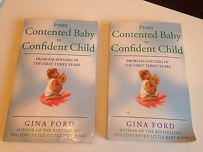 One Gina Ford Contented Baby To Confident Child Book Used (book No 2)