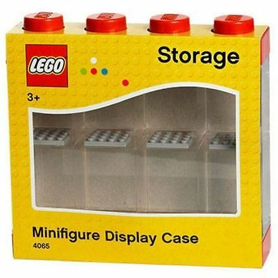 Lego Minifigure Display Case Small (Red)