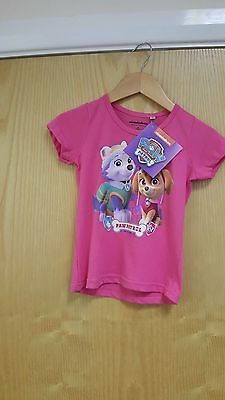 Paw Patrol T-Shirt 2 / 3 / 5  /8 Years