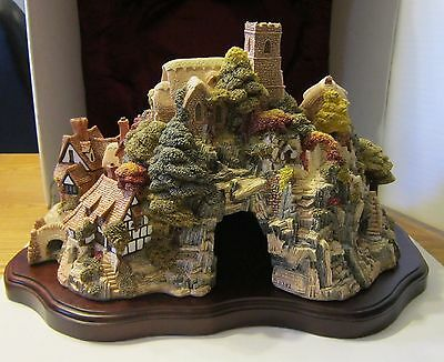 LilliPut Lane St. Peter's Cove Signed Mint in the Box 0382/3000 Hdmd Stewart '89