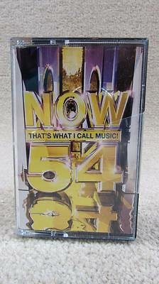 NOW That's What I Call Music 54 - double CASSETTE tape - Rare Brand New Sealed