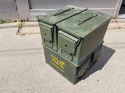 US Military issue 50 cal Ammo Can (M2A1)- 4 pack 50 Caliber Box