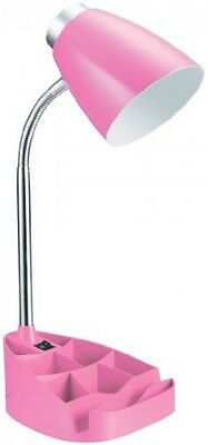 Desk Lamp For College Home Office Little Girls Room Gooseneck With IPad Stand