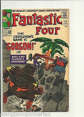 Fantastic Four 44 -1St App Gorgon !  Silver Age  * Fn+ / Vf *  Combine Shipping