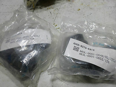 FANUC SERVO PLUG ASSEMBLY - Qty of 2 - A06B-6079-K814 - Plug and Backshell