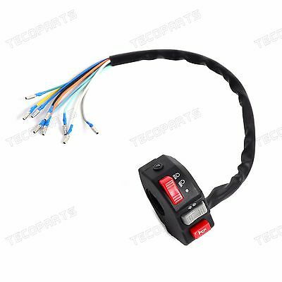 Lights Horn Turn Signal Switch Compact For Motorcycle Quad,ATV,Enduro,Trike