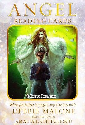 """angel Reading Cards"" By Debbie Malone (Oracle Cards)"