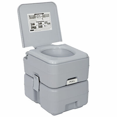20L Portable Camping Toilet Flush Porta Travel Outdoor Vehicle Boat Toilet Potty