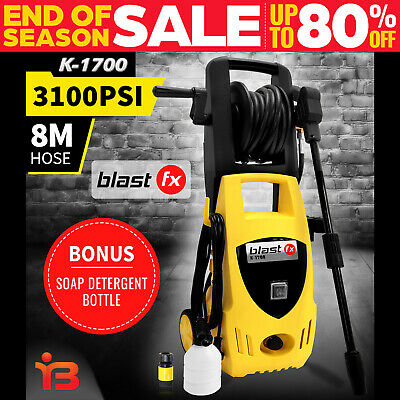 BLASTFX 3100 PSI High Pressure Washer Cleaner Electric Water 8M Hose Gurney Pump