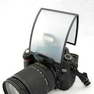 Universal Soft Screen Pop-Up Flash Diffuser For Nikon Canon Pentax Olympus