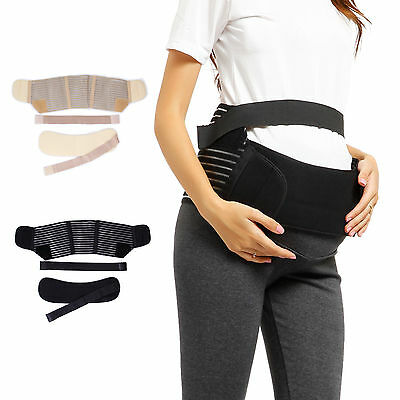 Lady Maternity Belt Black Pregnant Women Waist Support Prenatal Belly Band