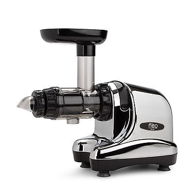 Oscar Neo 1000 Slow Cold Press Juicer Extractor - Chrome