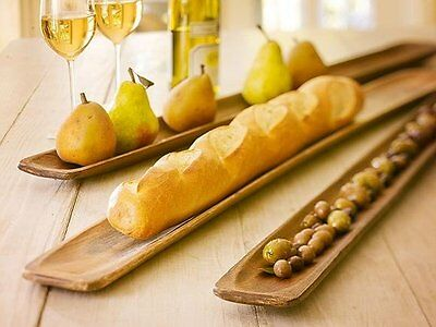 Vintage French Pine Bakers Baguette Board